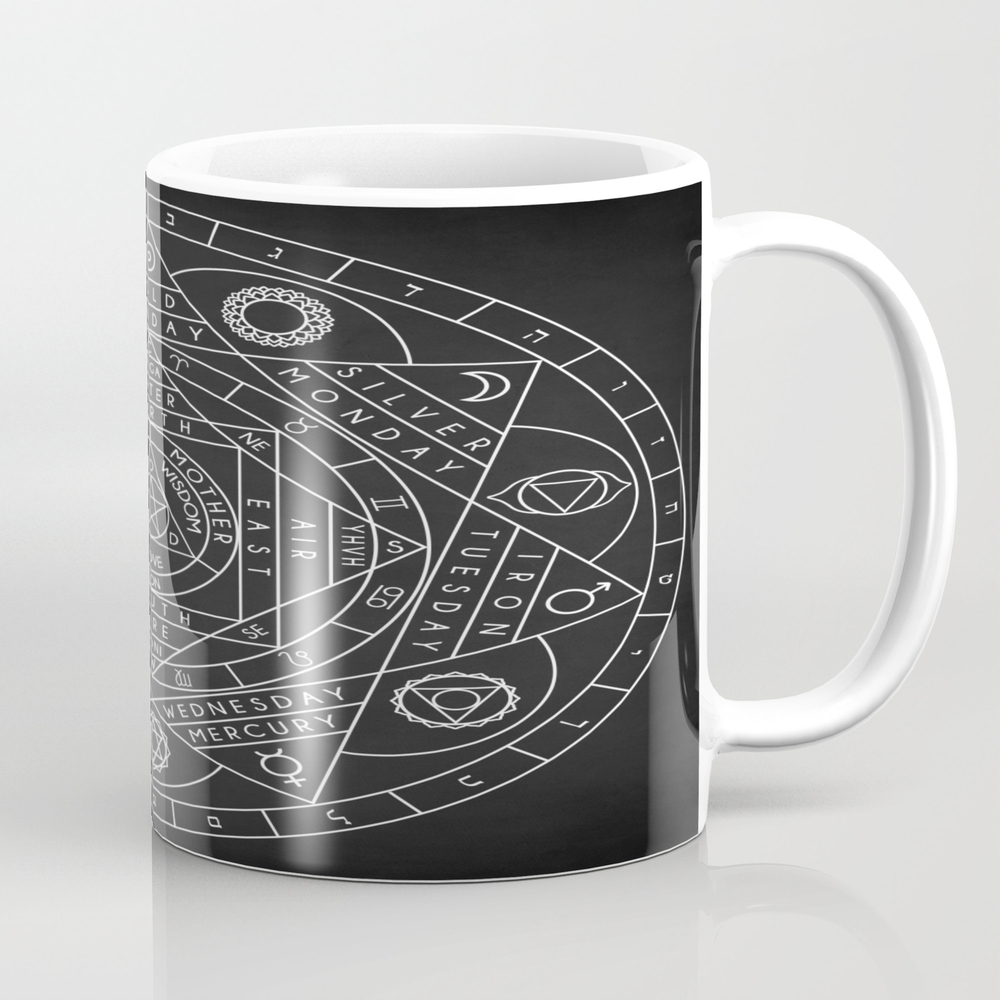 Sacred Geometry Tea Cup by Taylansoyturk MUG8806452