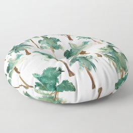 Tropical Palm Trees Floor Pillow