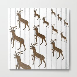 The march of the hind Metal Print