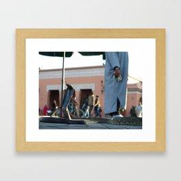 Souk Cobra Framed Art Print
