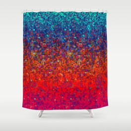Glitter Dust Background G172 Shower Curtain