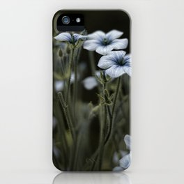 we were blue iPhone Case