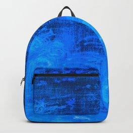 In liquid Indigo Backpack