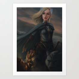 Aelin Fireheart Art Print