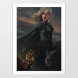 Aelin Fireheart Art Print