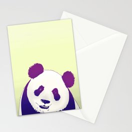 Smiling Panda Stationery Cards