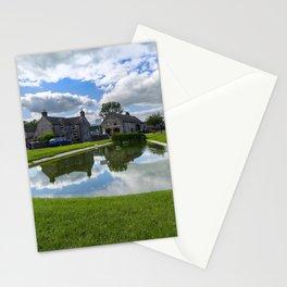 Hartington village pond Stationery Cards