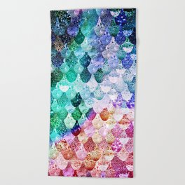 REALLY MERMAID FUNKY Beach Towel