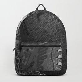 Big American Football - black &white Backpack