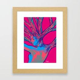 sleeping forest 16 Framed Art Print