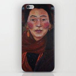 Nepalese Woman iPhone Skin