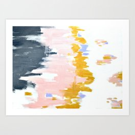 Multicolor spring abstract Art Print