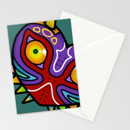 Majora Inspired Mask Stationery Cards