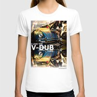 volkswagon T-shirts featuring Bug Life by sysneye