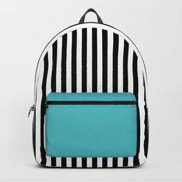 Liquorice allsorts, turqouise Backpack