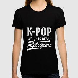 K-Pop Religion Pop Music Korea Music T-shirt