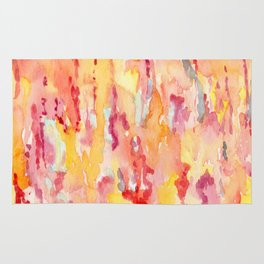 Dripping Watercolors Rug