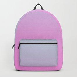 UNLIKE OTHER - Minimal Plain Soft Mood Color Blend Prints Backpack
