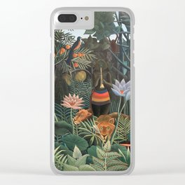 Henri Rousseau The Dream Clear iPhone Case