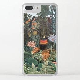 Henri Rousseau The Dream Clear iPhone Case