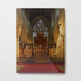 High Altar Metal Print