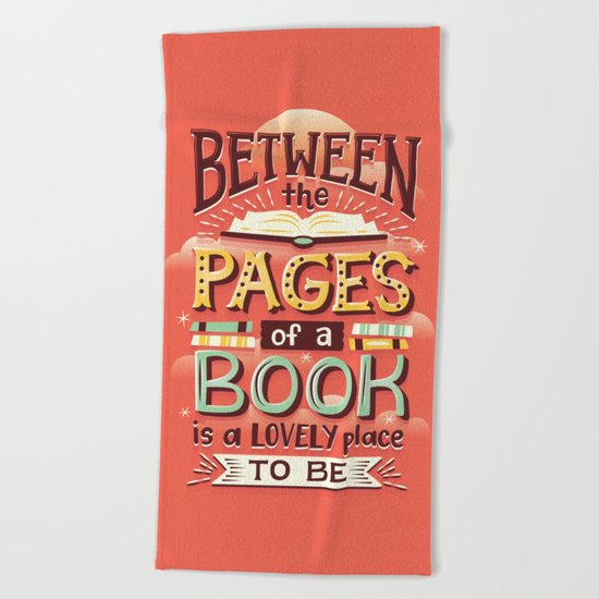 Between pages Beach Towel