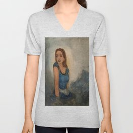 Alice Cries A Sea Of Tears Unisex V-Neck