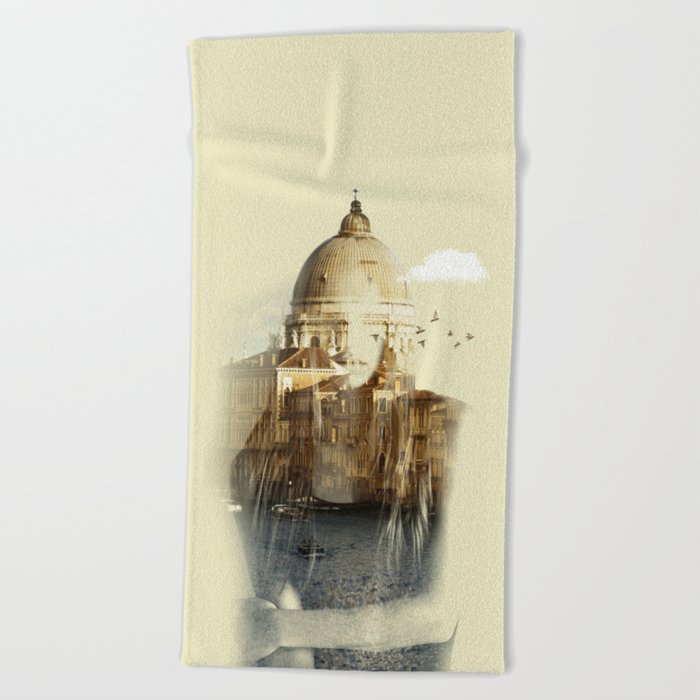 Venetian Arms Beach Towel