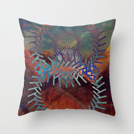 the clamor of the machine Throw Pillow