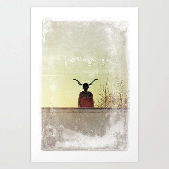 Youth Art Print