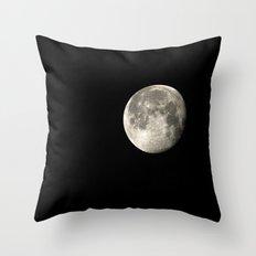 moon glow Throw Pillow