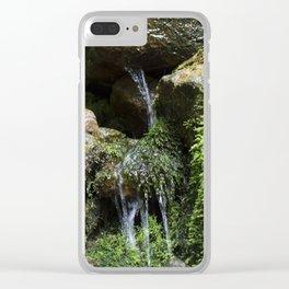 Rivulet Clear iPhone Case