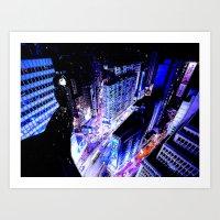 vertigo Art Prints featuring Vertigo by Danielle Tanimura