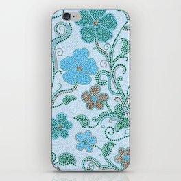 Dotty mosaic pattern iPhone Skin