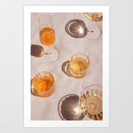 Cocktail Hour 2 Art Print