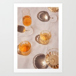 Cocktail Hour 2 Art Print