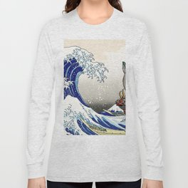 Legend of Zelda Great Wave Windwaker - the great wave off kanagawa Long Sleeve T-shirt