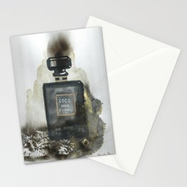 Perfume Fire illustration Stationery Cards