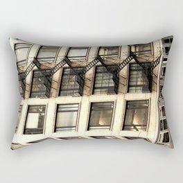 Chicago Fire Escape Rectangular Pillow