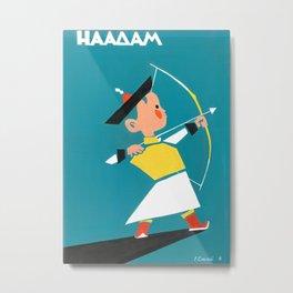 Naadam archery Metal Print