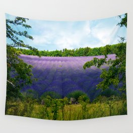 Summertime Lavender Wall Tapestry
