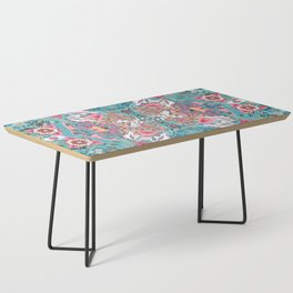 Blossoming Mandala Coffee Table