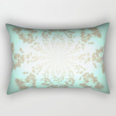 Ethereal Tiffany Pattern Rectangular Pillow