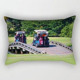 A Day Of Golf Rectangular Pillow