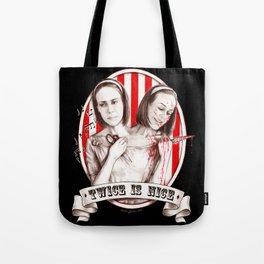 Tattler Twins (edited) Tote Bag