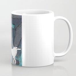 Woman Wolf wandering Coffee Mug