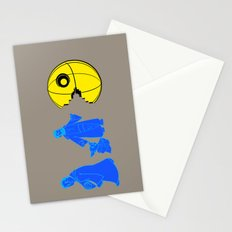 Thats no moon its a... oh hell run!! Stationery Cards
