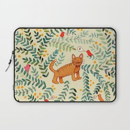 minou jaune (this yellow cat) Laptop Sleeve