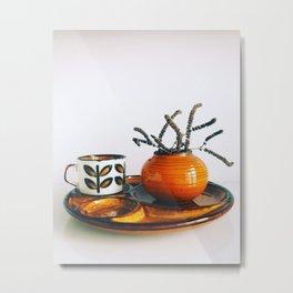 Ceramics 2 Metal Print