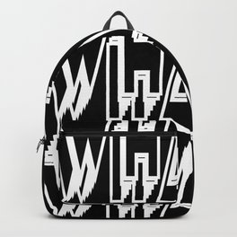 WHAT keeps happening: White Backpack